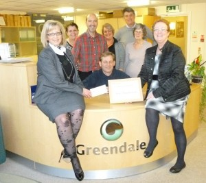 2014 Greendale cheque