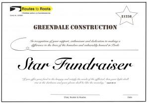 FundraiserCertificate A4