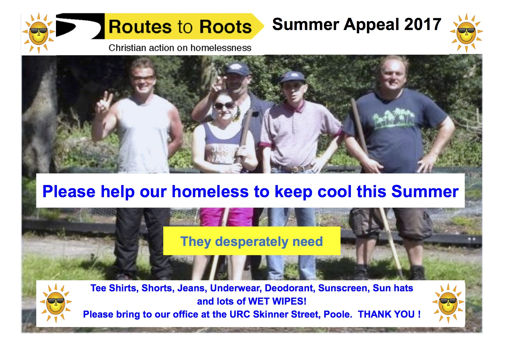 Summer Homeless Appeal